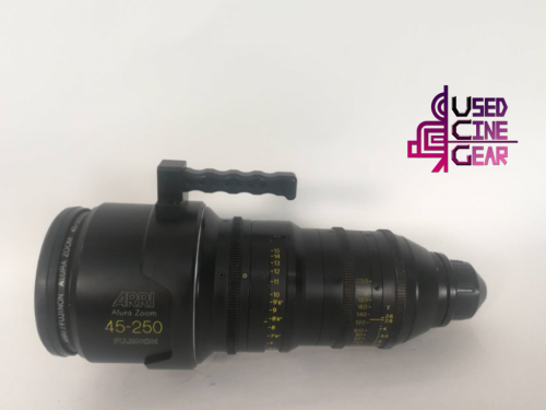 Used ARRI/Fujinon Alura 45-250mm Studio Zoom Lens
