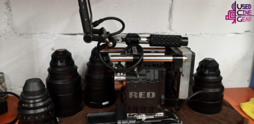 Used RED Digital Epic 5k camera+RED Pro Lens Bundle Kit