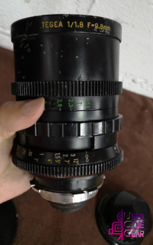 Used Kinoptik TEGEA 9.8mm PL-mount Cinema Lens