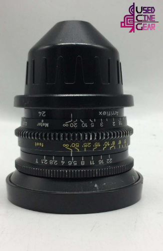 Used ARRI ZEISS Standard Speeds Lens Kit