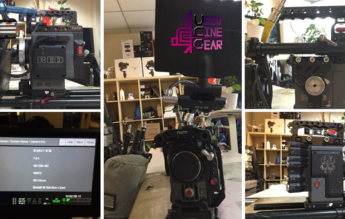 Used RED Scarlet Camera(Scarlet-X & Scarlet-W)