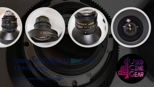 Used ARRI/ZEISS Ultra Prime 12mm Wide-Angle Lens