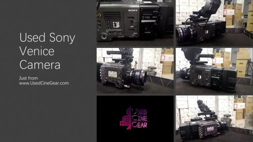 Used Sony Venice 6k Cinema Series Camera