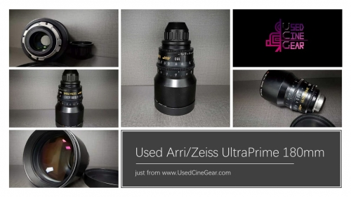 Used ARRI/ZEISS Ultra Prime 180mm Lens