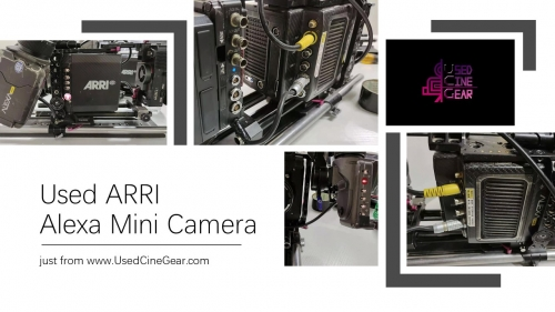 Used ARRI Alexa Mini Camera(ARRIRAW)