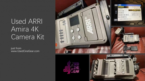 Used ARRI Amira 4k Camera Kit (1000+hours)