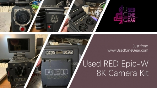 Used RED Epic-W 8K Camera Kit