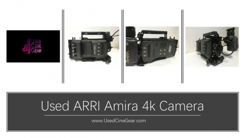 Used ARRI Amira 4k Camera 7000+hours