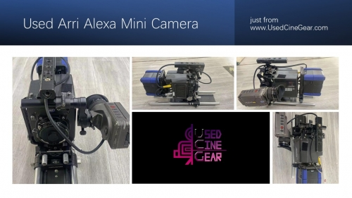 Used ARRI Alexa Mini Camera Kit  with Arriraw&Anamorphic licences(6000+hours)