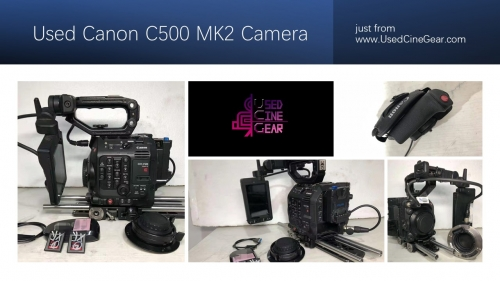 Used Canon C500 MK2 Camera