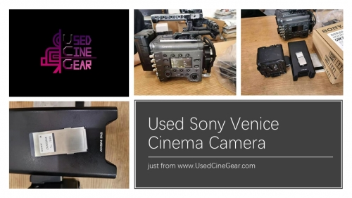 Used SONY Venice FF Cinema Camera (600+ hours)