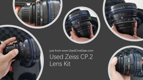 Used Zeiss CP.2 Cinema Lens Kit PL-Mount