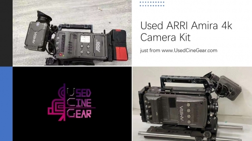 Used ARRI Amira 4k Camera Kit (6000+hours)