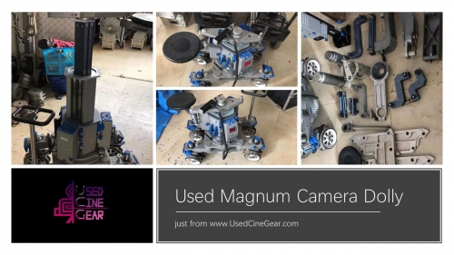 Used Magnum Camera Dolly System