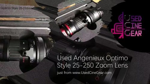 Used Angenieux Optimo Style 25-250mm Cinema Zoom Lens