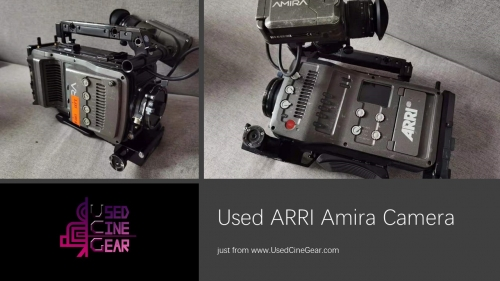 Used ARRI Amira 4k Cinema Camera (6000+hours)