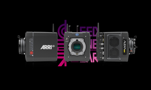Used ARRI Alexamini Cinema Camera Kits (7k+hours)